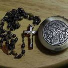 Rosary Box w/ Rosary...Celtic cross motif    (5 more for sale on other listings)