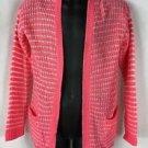 Pink Republic Girls Pink Knit Cardigan Sweater NWT size S 7/8 M 10/12