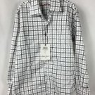 Robert Graham Boys Long Sleeve Black White ANDY Button Front Shirt NWT Small 8