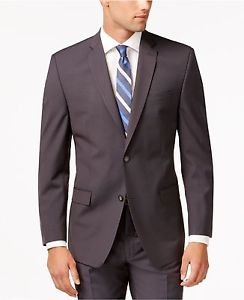 Andrew Marc New York Men's Slim Fit Gray Mini-Stripe Suit Jacket NWT size 48R