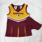 NFL Washington Redskins Toddler Girls Cheerleading Outfit Costume size 2T