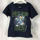 Disney Jr Miles Tomorrowland Short Sleeve Navy Graphic T-Shirt NWT size 2T