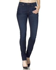 SPANX The Slim-X Skinny Jeans Rich Indigo Wash Slimming Shaping NWT size 31