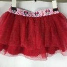Disney Minnie Mouse Girls Red Tutu Skirt NWT size 4