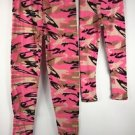 Mommy & Me Matching Leggings Pink Camouflage Camo NWT Womens OS Girls S/M L/XL