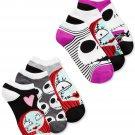 Tim Burton Nightmare Before Christmas women's 6-pair Pack No-show Socks