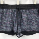 Ideology 2-in-1 Running Shorts Multi Space Dye Pattern NWT size Large