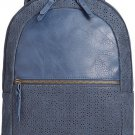 Style & Co Airyell Daisy Perforated Medium Backpack Blue