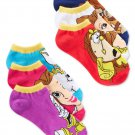 Disney women's Beauty and the Beast 6-pair Pack No-show Socks 9-11