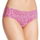 Calvin Klein Printed Invisibles Hipster Panty Daring Snakeskin Pink D3508