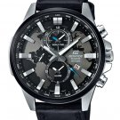 Casio Edifice EFR-303L-1AV Chronograph Stainless Steel Quartz Leather Strap
