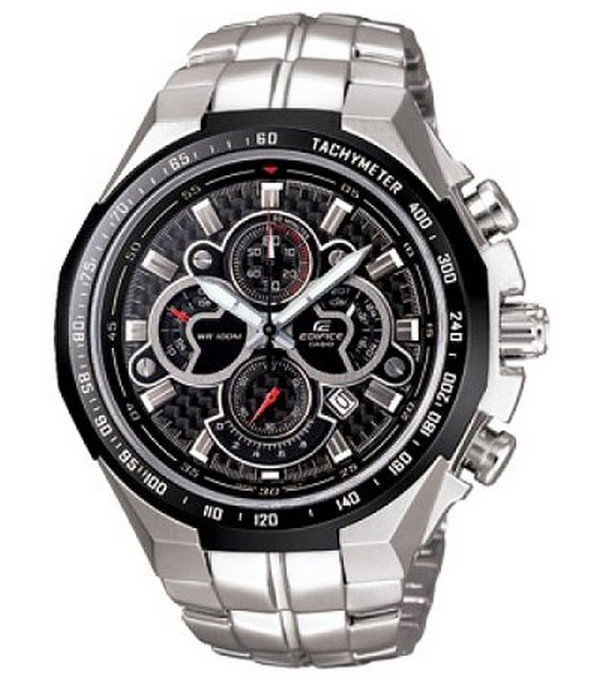 Casio Edifice EF-554SP-1A Chronograph Stainless Steel Quartz Color Blue