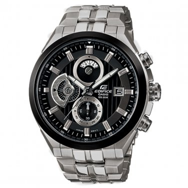 Casio Edifice EF-556D-1AV Chronograph Stainless Steel Casual Dial Size 48mm