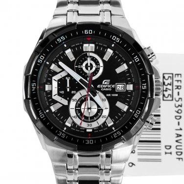 Casio Edifice EFR-539D-1AV Chronograph Stainless Steel Quartz Color Black