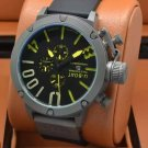 Men Watch U-Boat 1001 Grey Bezel Stainless Steel Case Size 50mm