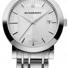 men Watch Burberry Heritage BU1350 Size 38mm Stainless Steel Color Silver