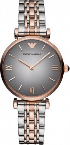 Women Watch Emporio Armani AR1725 Stainless Steel Size 32mm Color Grey
