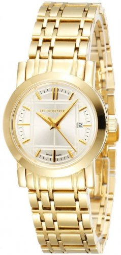 Women Watch Burberry BU1394 Stainless Steel Size 28mm Color White