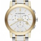 Women Watch Burberry BU9751 Chronograph Stainless Steel Size 38mm