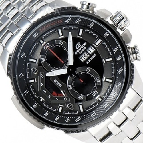Casio Edifice EF-558D-1AV Chronograph Stainless Steel Size 50mm Date Day Display