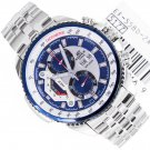 Casio Edifice EF-558D-2AV Chronograph Stainless Steel Size 50mm Date Day Display