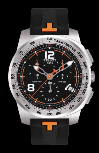 Men Tissot T-Sport T036.417.17.057.01  Chronograph Stainless Steel Case Size 44mm