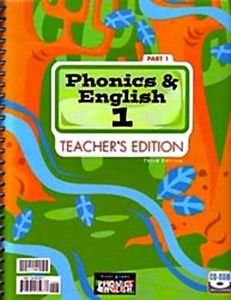 Phonics and English 1: Teacher's Edition, 2 Parts by L. Michelle Rosier
