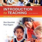 What's New in Foundations / Intro to Teaching: Introduction to Teaching :...