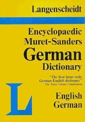 Muret-Sanders Encyclopedic Dictionary Vol. 1, Pt. 1 : English-German A - M...