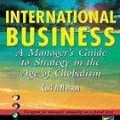 International Business : A Manager's Guide to Strategy in the Age of...