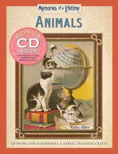 Memories of a Lifetime®: Animals : Artwork for Scrapbooks and Fabric-Transfer...