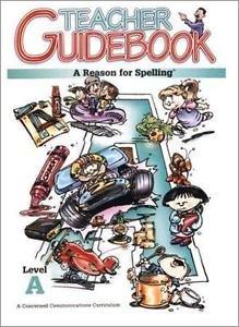 A Reason for Spelling Level a Teacher Guidebook (1972, Paperback, Teacher's...