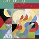 Alfred's Group Piano for Adults Teacher's Handbook, Bk 1 by Lancaster, 2nd Ed.