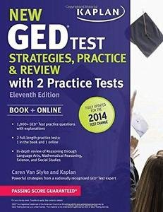 New GED® Test Strategies, Practice, and Review with 2 Practice Tests by Caren...