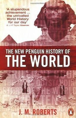 The New Penguin History of the World by J. M. Roberts (2004, Paperback, Revised)