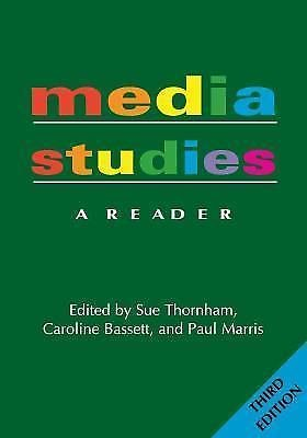 Media Studies : A Reader -- 3rd Edition (2010, Paperback, New Edition)