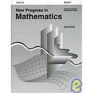 New Progress in Mathematics, Grade 7, Student Test Booklet, Free Response...