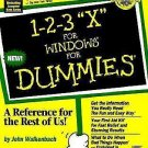 1-2-3 Millennium Edition for Dummies by John Walkenbach (1998, Paperback)