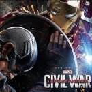 Marvel's Captain America: Civil War : The Art of the Movie (2016, Hardcover)