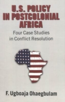 Dimensions of U.S. Role in Conflict Resolution : Four Case Studies in...
