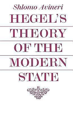 Cambridge Studies in the History and Theory of Politics: Hegel's Theory of...