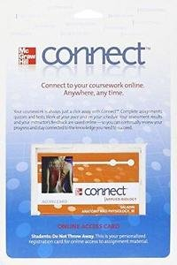 Connect Access Card for Anatomy & Physiology by Kenneth S. Saladin, 5th Ed.