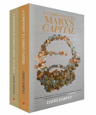 A Companion to Marx's Capital, Vols. 1 and 2 Shrinkwrapped by David Harvey...