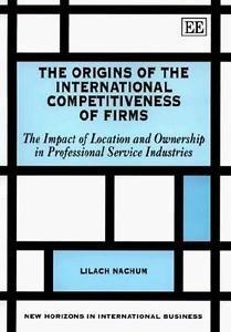 New Horizons in International Business: The Origins of the International...