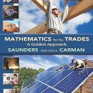Mathematics for the Trades : A Guided Approach by Robert A. Carman and Hal M....