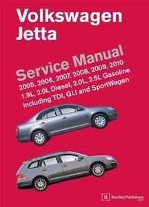 Volkswagen Jetta (A5) Service Manual : 1. 9L and 2. 0L diesel, 2. 0L and 2....