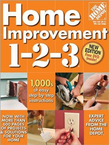 Home Improvement 1-2-3 by Home Depot Books