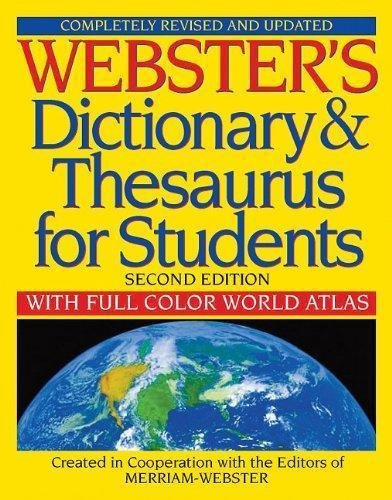 Webster's Dictionary and Thesaurus for Students, Second Edition with...