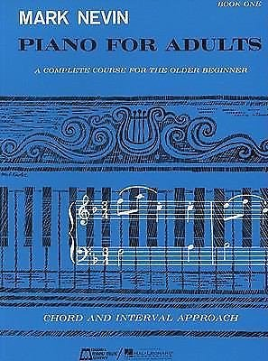 Piano for Adults Bk. 1 by M. Nevin (1984, Paperback)
