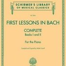 First Lessons in Bach, Complete Bks. 1 & 2 : For the Piano (2007, Paperback)